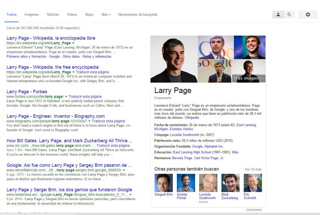 adwords elimina anuncios laterales larry page