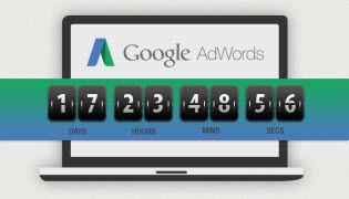 anuncios de google adwords con cuenta regresiva