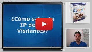 como saber la ip de los visitantes web yt