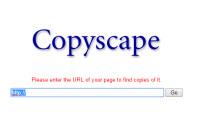 vertificar contenido duplicado con copyscape