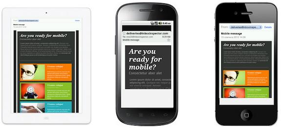 email marketing optimizado para moviles
