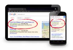 extension de anuncios enlaces a sitios adwords