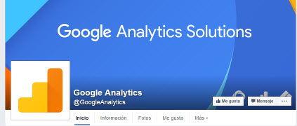 fanpage de google analytics