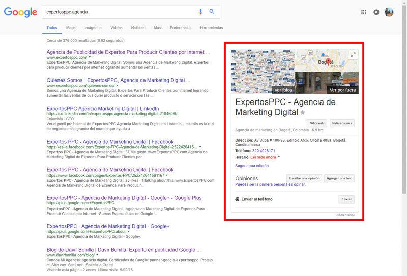 google mi negocio y sus beneficios