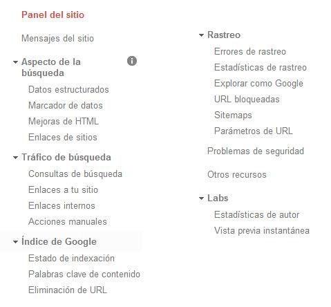 herramientas del webmaster tools de google